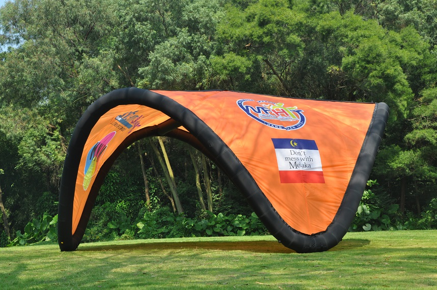 Wave tent 3